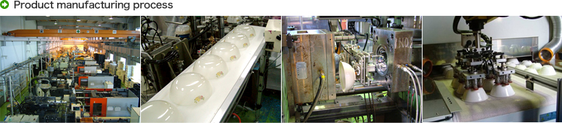 photo : Product manufacturing process